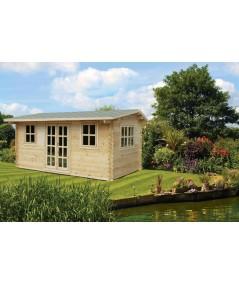 Caseta de jardín NIDA 5x3 , 15 m2 , 44 mm