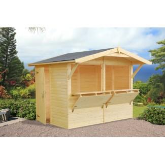 Kiosko de madera   STELLA 5,0 m2