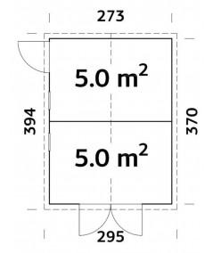 Trastero de madera   DAN 9.9 m2