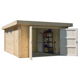 "Garatge de fusta ""MODERN..."