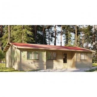 "Casa de madera ""NEREA 72  m2"" - 44mm"