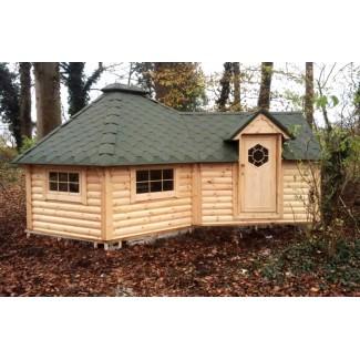 """Caseta de madera """"Grill Cabin 9.2 PLUS 2.5"""""""