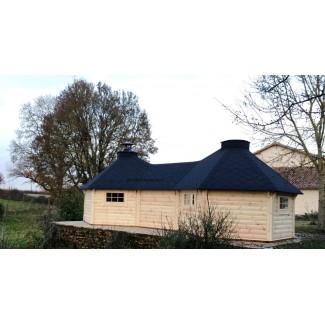 """Caseta de madera """"Grill Cabin 9.2 TWIN"""""""