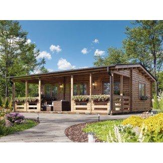Casa de madera de doble pared ALINA