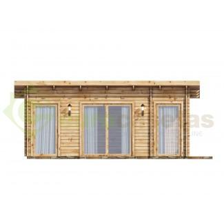 Casa de madera GRANADA 22 m², 44 mm