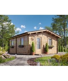 """Casa de madera  """"JULIA 6x6 , 36 m2"""""""