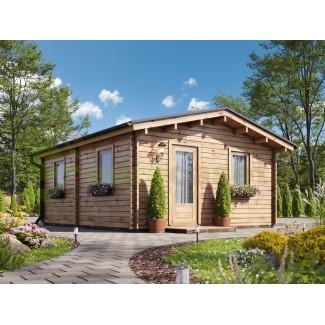 Casa de madera JULIA (5x6) 30 m², 44mm