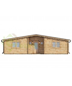 """Casa de madera  """"KRISTI , 64,9 m2"""" - 44mm"""