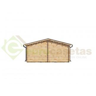 """Casa de madera """"MALLORCA, 72 m2"""" - 44mm"""