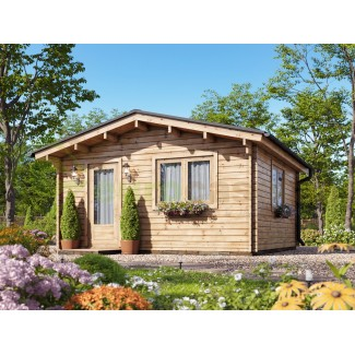 Caseta de jardín DENIA 4x6, 24 m2