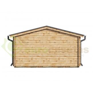 Caseta de jardín DENIA 6x5 , 30 m2