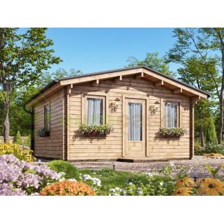 "Caseta de jardín ""GANDIA 4X4"" , 16 m2 , 44 mm"