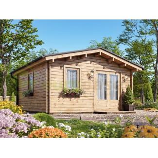 Caseta de jardín  LIDA 4x4 , 16 m2  44 mm