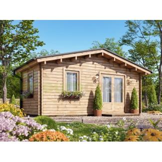 Caseta de jardín  LIDA 5x3 , 15 m2,  44 mm