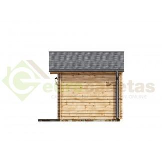 Caseta de jardín  MONICA 5x3 , 15 m2 , 44 mm