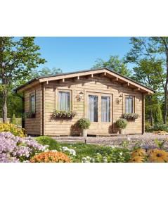 Caseta de jardín  MONICA 6x4 , 24 m2 , 44 mm