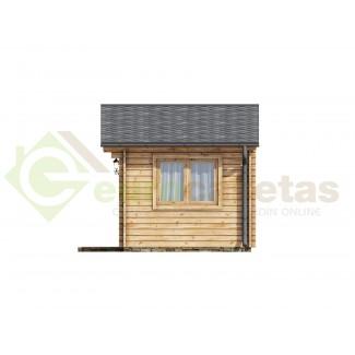 Caseta de jardín   ALTEA 6X3 , 18 m2 , 44 mm