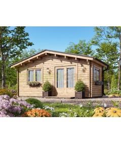Caseta de jardín ALTEA 5X3 , 15 m2 , 44 mm