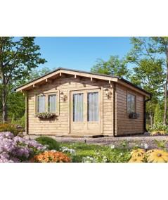 Caseta de jardín   ALTEA 5X4 , 20 m2 , 44 mm