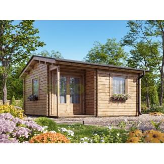 Caseta de jardín  ALPINA  5x5 , 25 m2 - 44mm