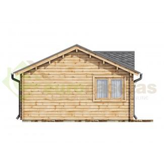 Caseta de madera LONDON 2 - 44mm