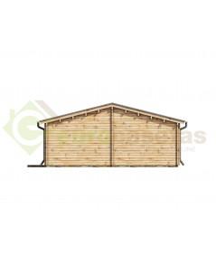 """Casa de madera """"NEREA NORDIC 72  m2"""" - 70 mm"""