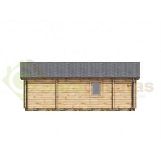 "Casa de madera ""JENNIFER NORDIC , 87 m2"" - 70 mm"