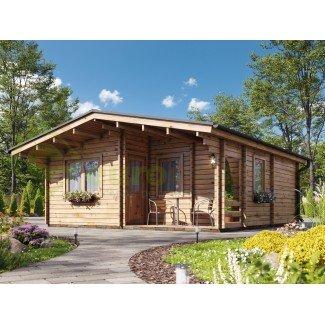 """Casa de madera """"FAY - A , 36 m2"""""""