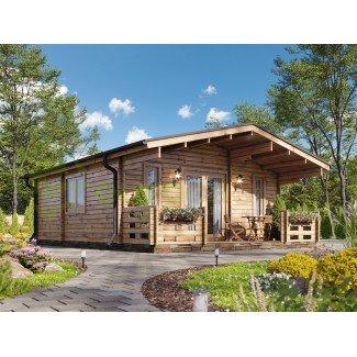 """Casa de madera   """"PADOVA PLUS  48 m2"""""""
