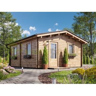 Casa de madera BERTA  (5x6) 30 m², 44mm