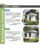 Caseta Utility 4.9 Gris Verde