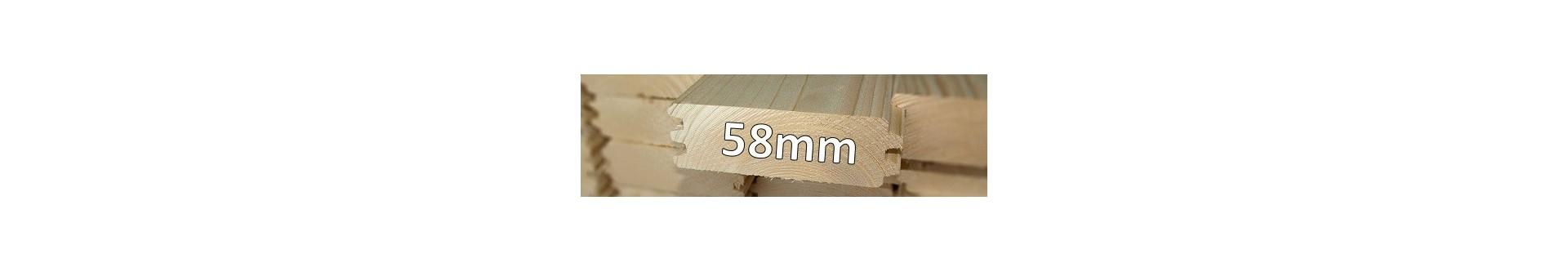 Grosor 58 mm