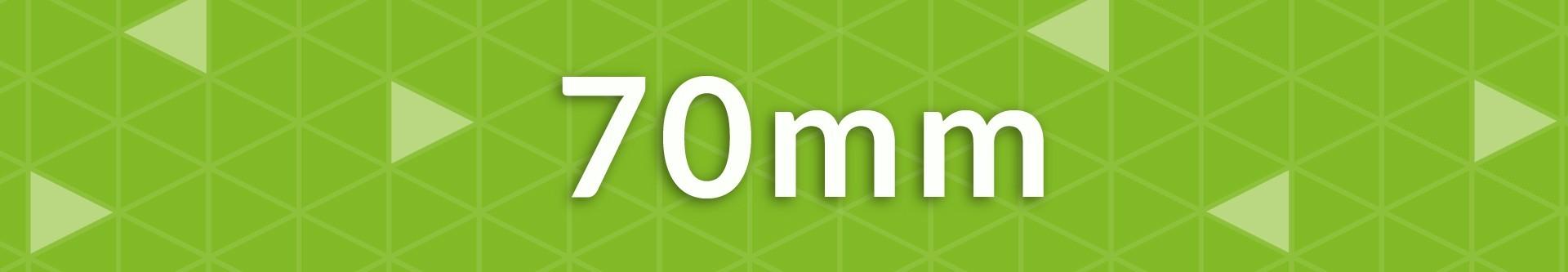 Casetas de jardín 70 mm