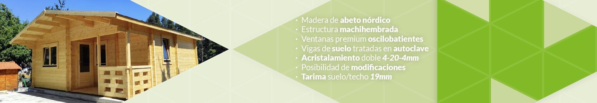 Casas de madera | Cabañas de madera | Bungalows prefabricados