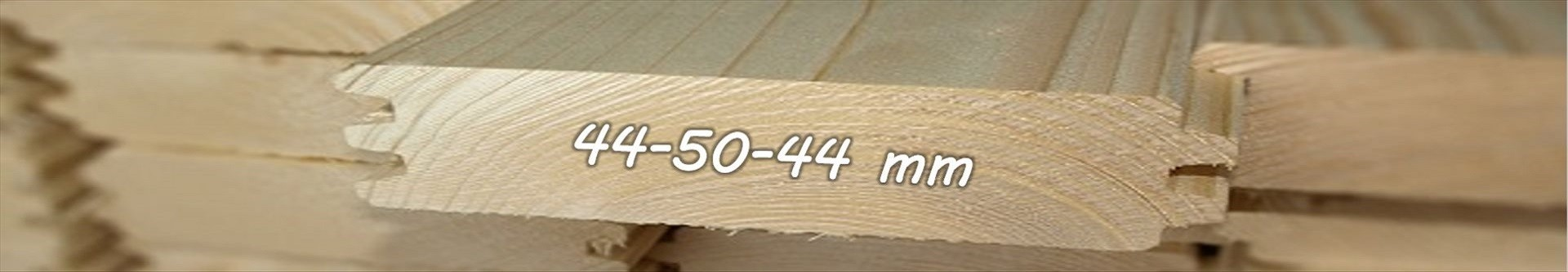 Casas de madera Doble pared | Grosor 44-50-44mm