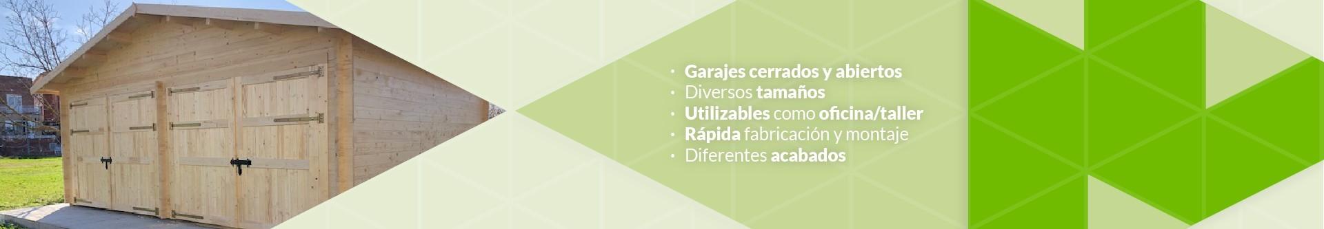Garajes de madera