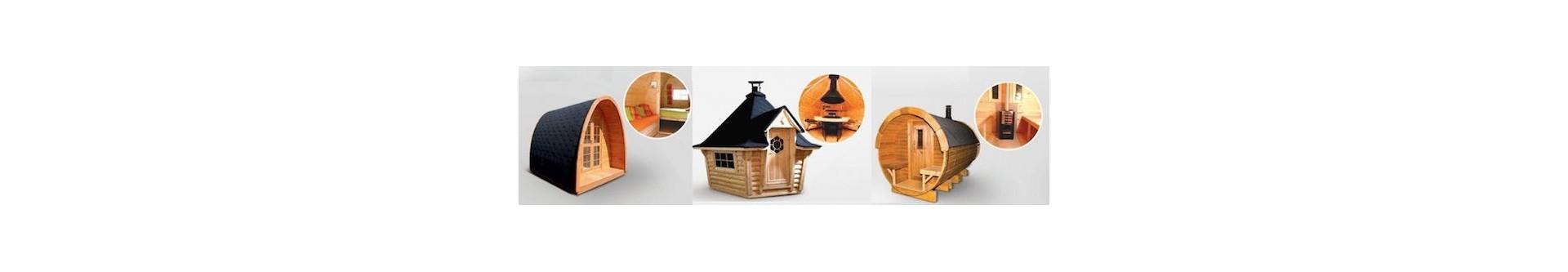 cabañas y Casetas diseñadas para Campings