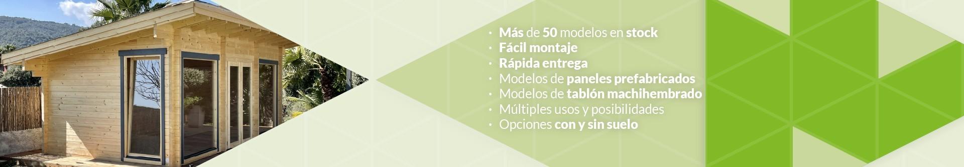 Casetas de jardín | Casetas de madera | Casetas para terraza