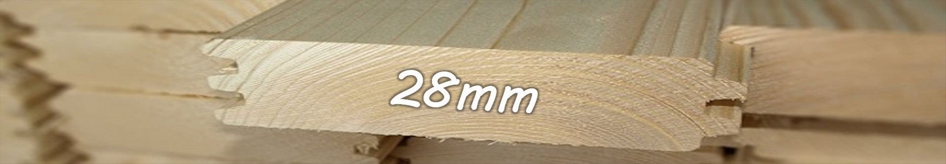 Casetas de jardín 28 mm