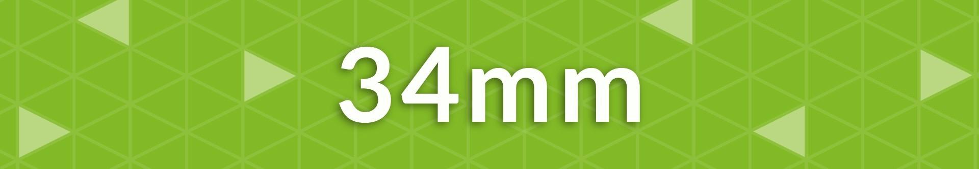 Gruix 34 mm