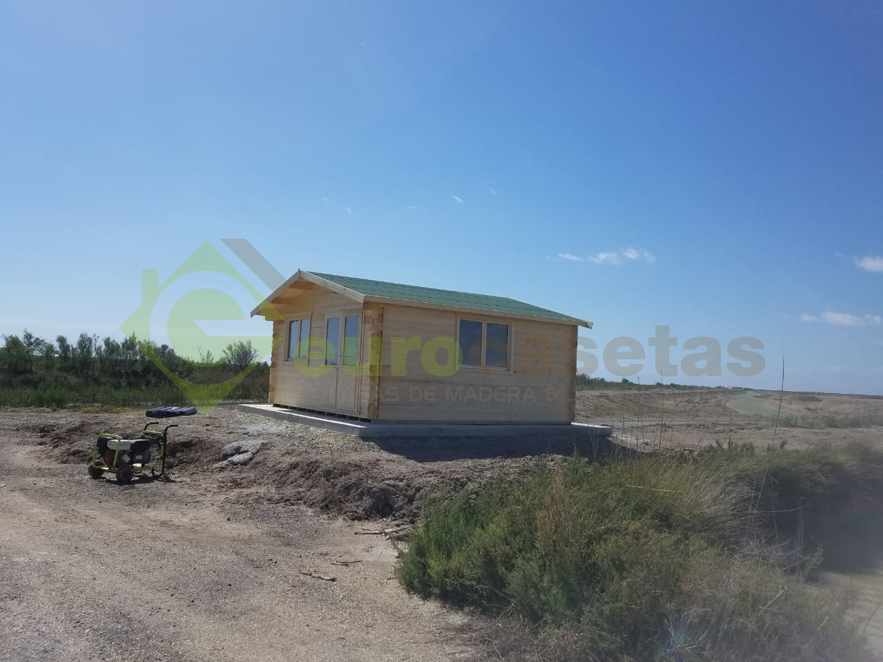 Caseta de madera ALTEA 5x5» — en Tarifa