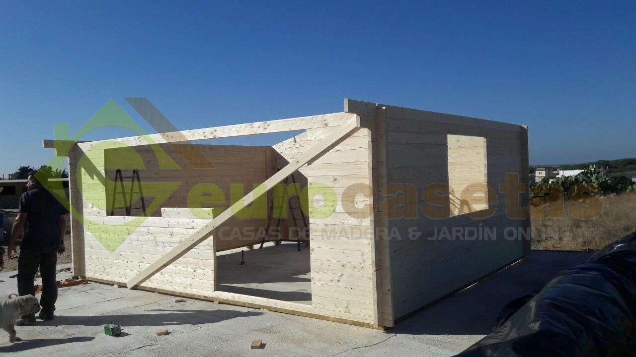 Montaje Caseta de jardín ALTEA 6x5 en Cadiz
