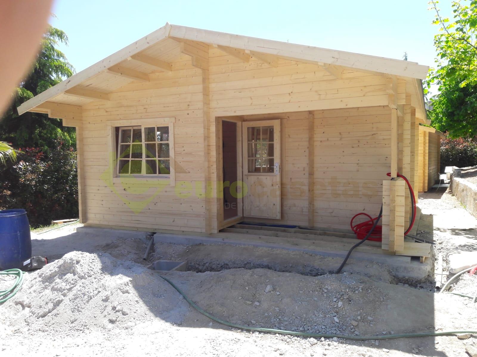 Casa de madera FAY A, 70mm — en Penafiel, Portugal