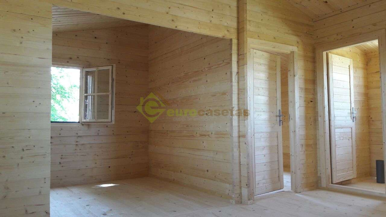 Montaje casa de madera FAY en Guadalajara
