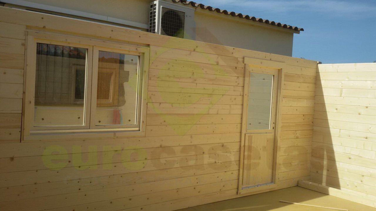 Garaje de madera FR 3