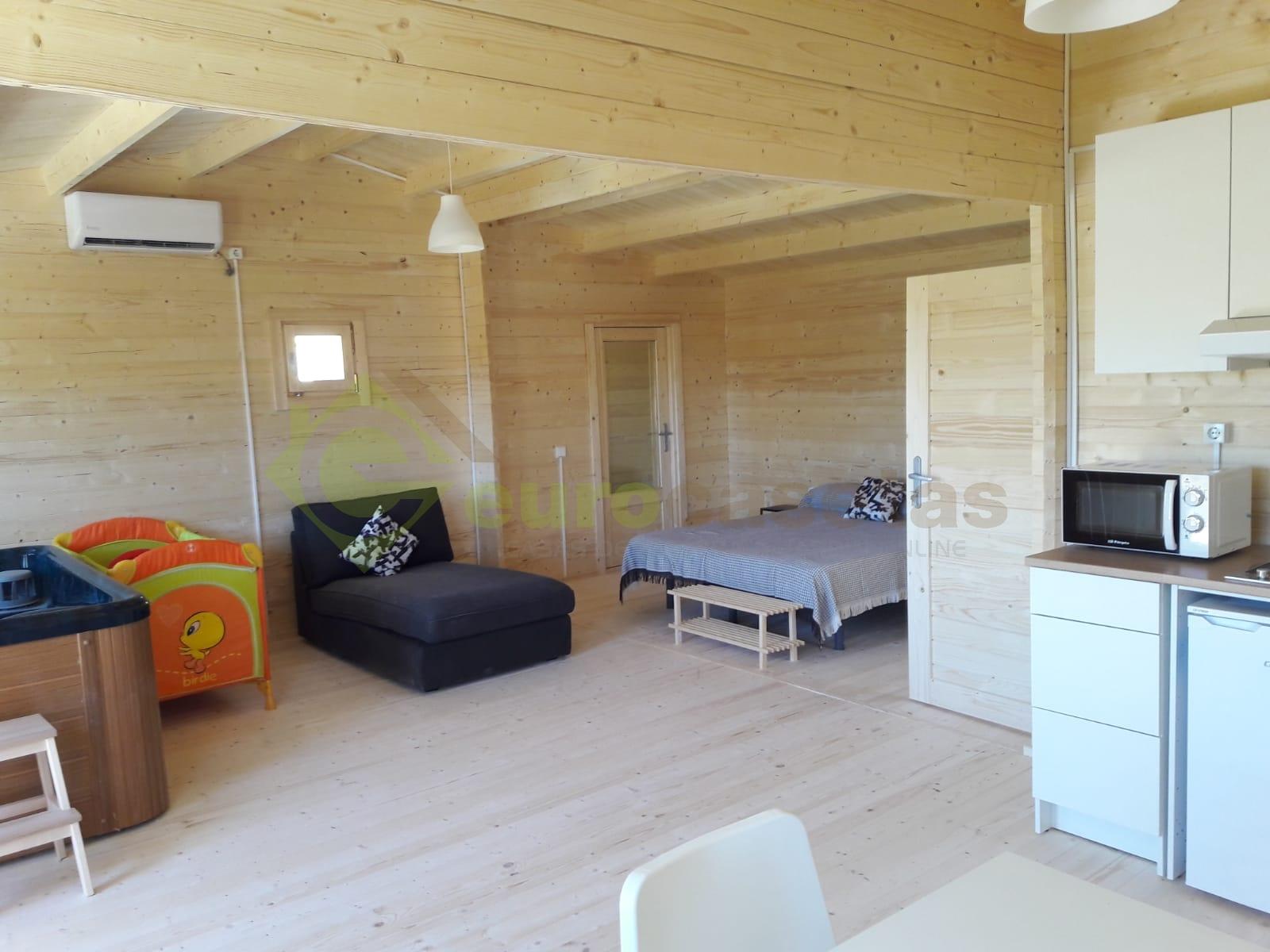 Casa de madera HAKAN PLUS, 7x7.2m — en Guadalajara (España