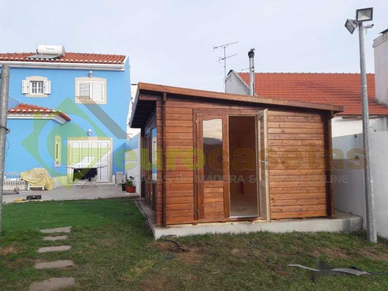 Caseta de jardín LISA 14.2 m2