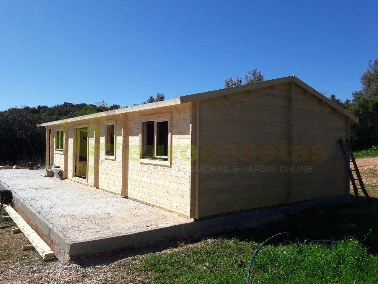 Casa de madera Mallorca Spec