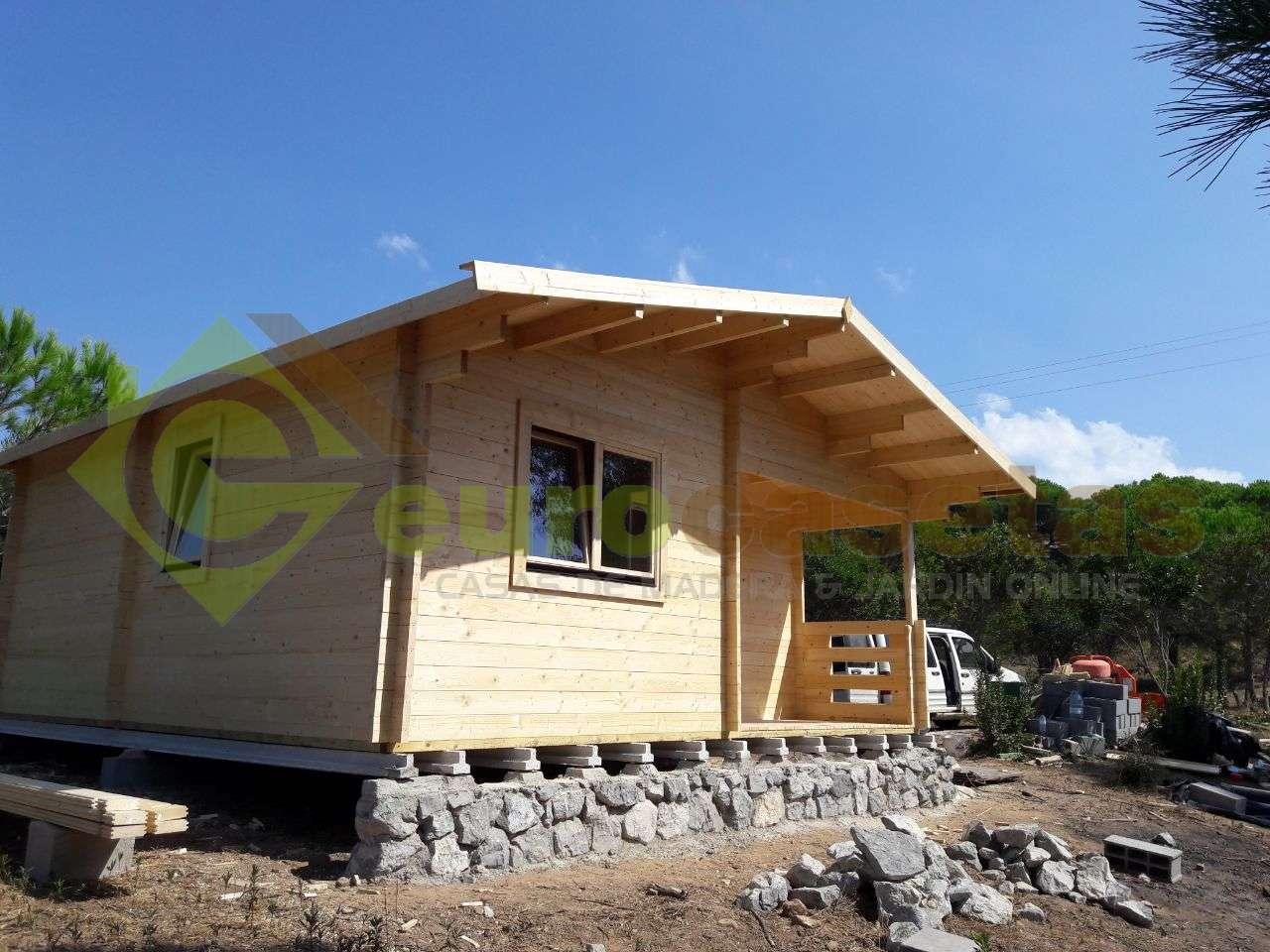 Montaje Casa de madera FAY en Portugal