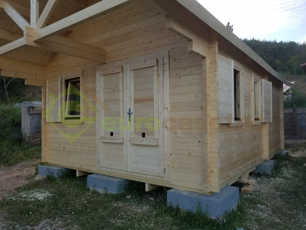 Casa de madera NOIA, 70mm — en Portugalia